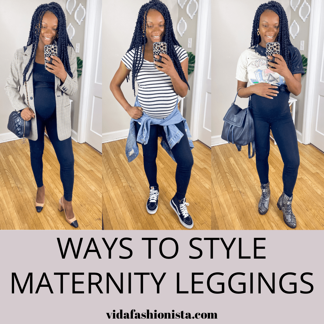 Ways To Style Maternity Leggings