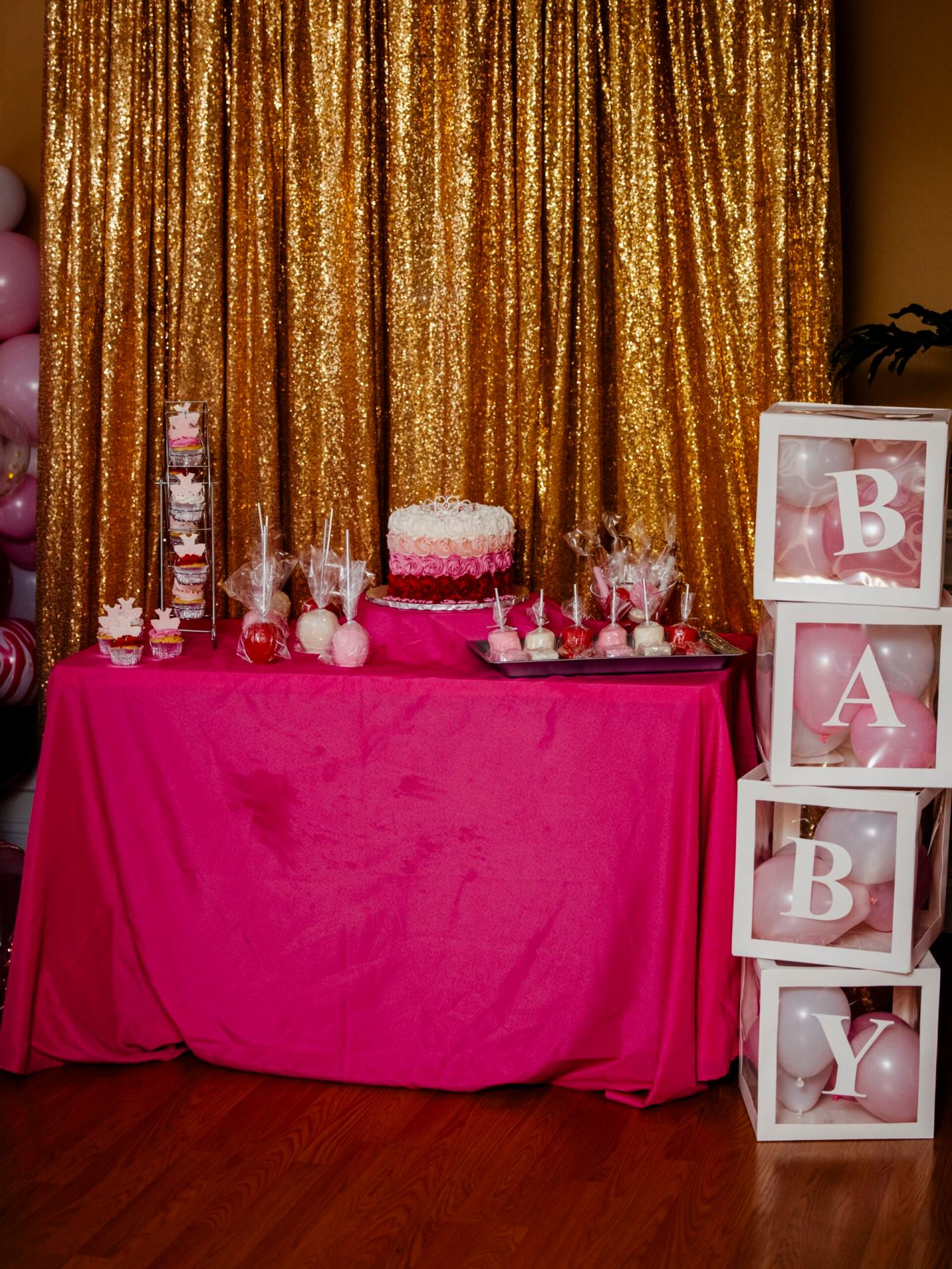 Tutu and Tiara Themed Baby Shower