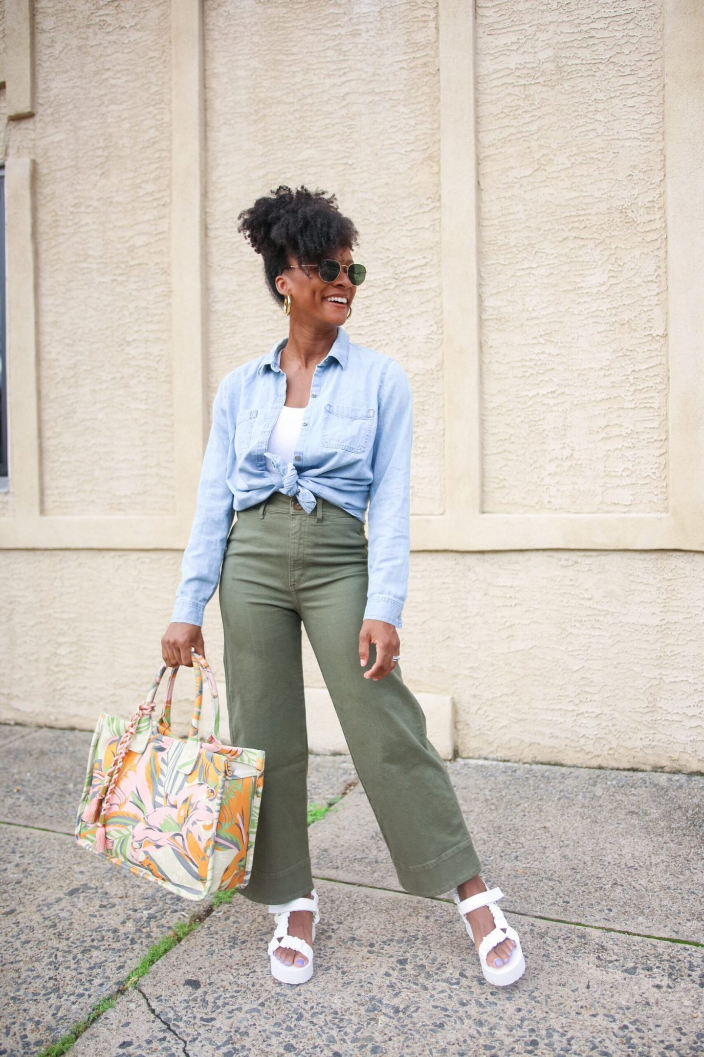 Ways To Style Wide Leg Crop Pants