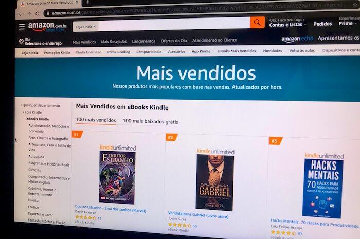 saiba como ganhar dinheiro online vendendo ebooks na amazon