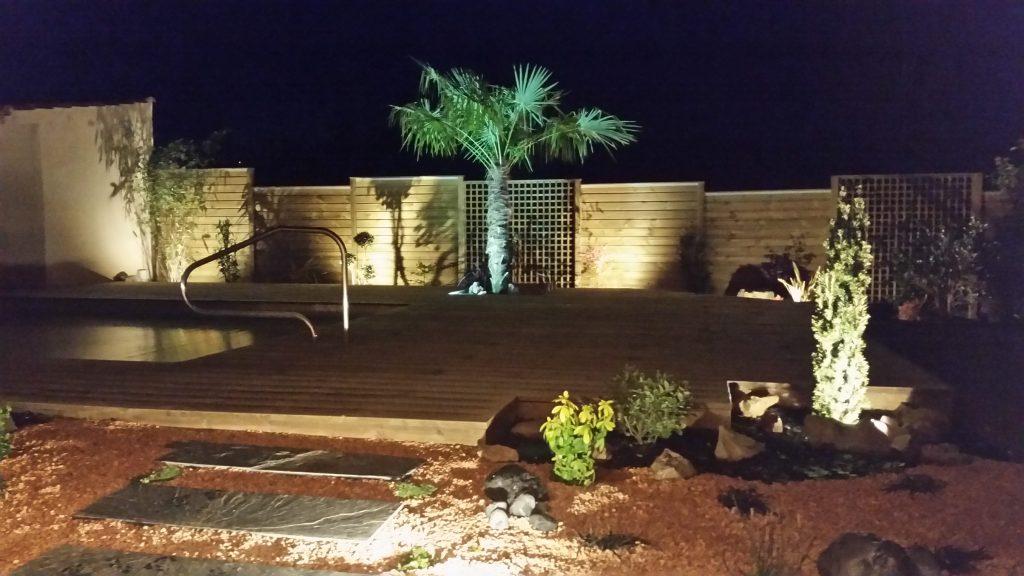 Éclairage de jardin – VIDAL PAYSAGISTE