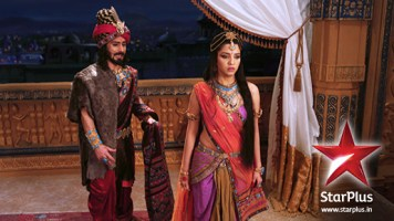 Shakuni and Gandhari, Credit: www.starplus.in