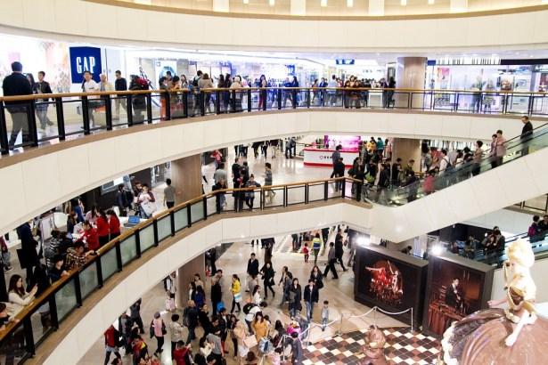 centros comerciales de hong kong