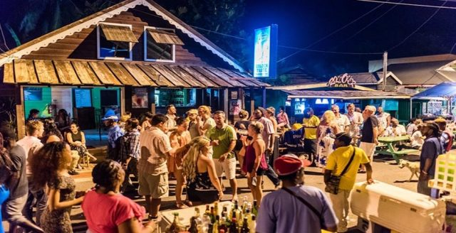 street party St Lucia Caribe