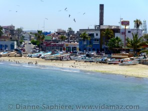 Looking over to Playa Norte