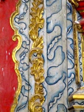 Closeup of the altar