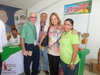With Arq. Ernesto Rivera Valdéz