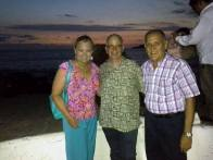 Dianne, Greg and Gustavo Gama