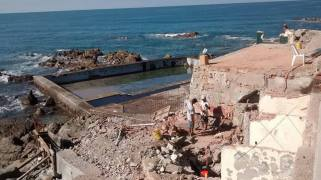 Tourism Department photo of the Carpa Olivera pool project renovation