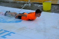 Danny sliding on through...