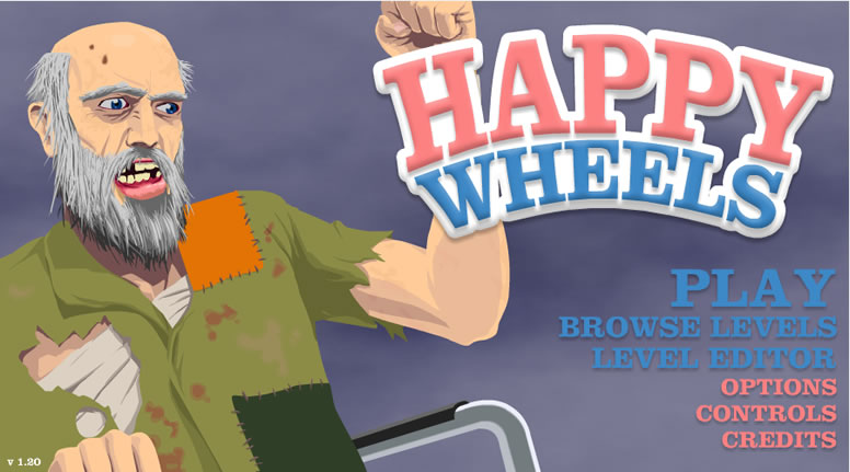 Review Happy Wheels (1/6)