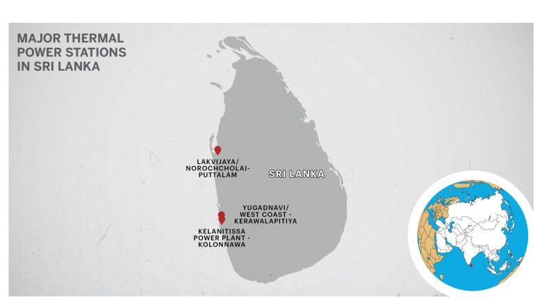 Power plants in Sri lanka