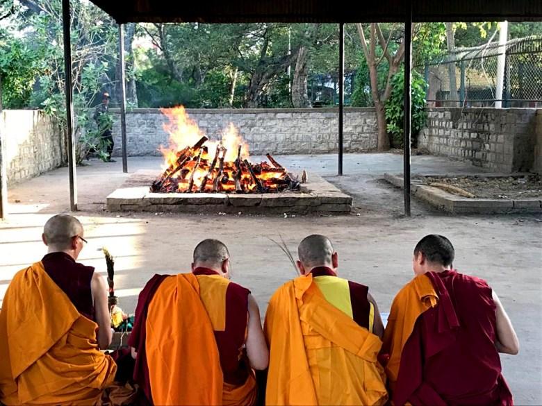Monks death