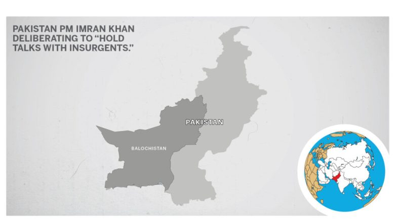 Map of Balochistan Pakistan