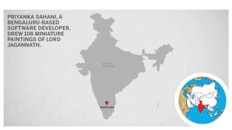 Map of Bengaluru