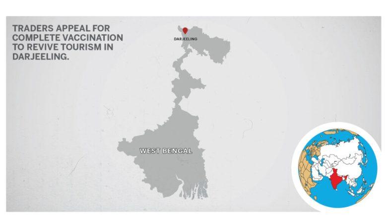 Map of Darjeeling West Bengal