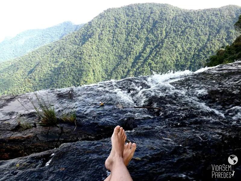 cachoeiras escondidas: Cachoeira do Rio Mimoso - Vida sem Paredes