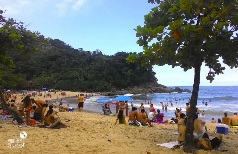 Praia do Meio, Trindade, Paraty - RJ
