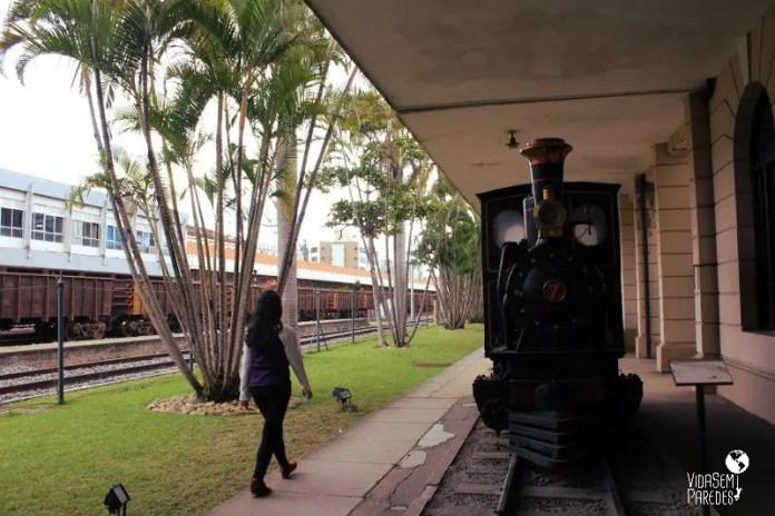 museus gratuitos em Juiz de Fora: Museu Ferroviário
