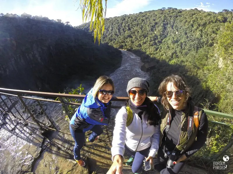 Cachoeiras em Prudentópolis: Salto Barão do Rio Branco e cânion do Rio dos Patos