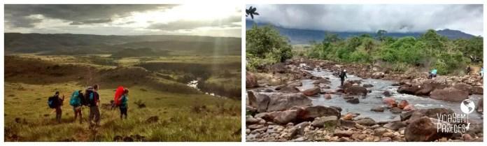 Atrações no Monte Roraima: Rios Tek (ou Tök) e Kukenan