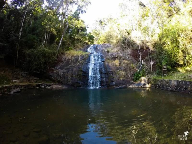 O que fazer em Passa Quatro - MG: Cachoeira de Iporã