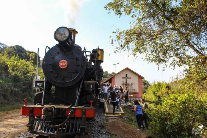 Estação Manacá, Passeio no Trem da Serra da Mantiqueira, Passa Quatro (MG)