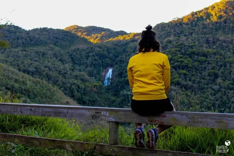 cachoeiras em Santa Rita de Jacutinga - MG: Mirante do Pacau