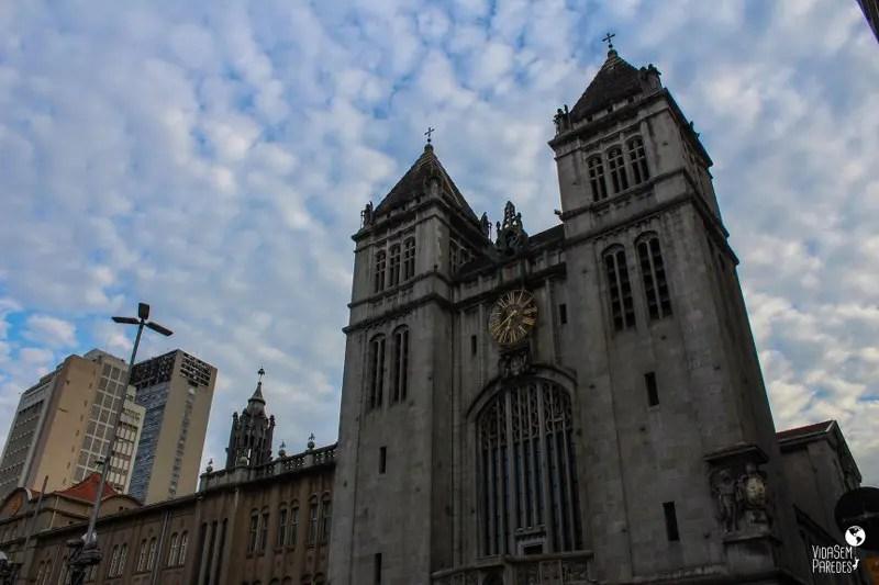 atrações para conhecer a pé no centro de São Paulo: Mosteiro São Bento