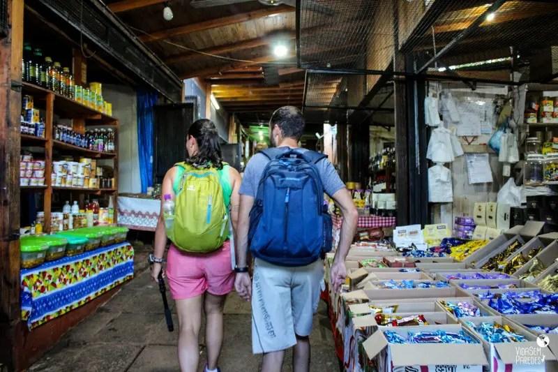 passeio na La feirinha de Puerto Iguazú