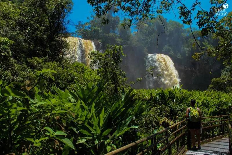 Parque Nacional Iguazú: cataratas Argentina, Circuito Inferior