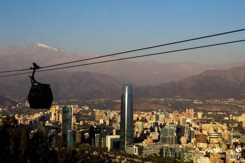 Mirante Sky Costanera em Santiago - Chile