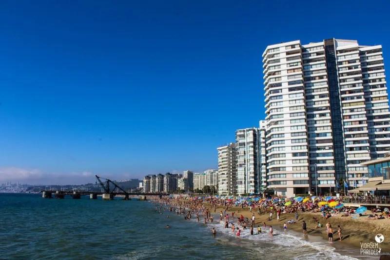 Melhores pontos turísticos em Viña del Mar, Chile: Playa Acapulco