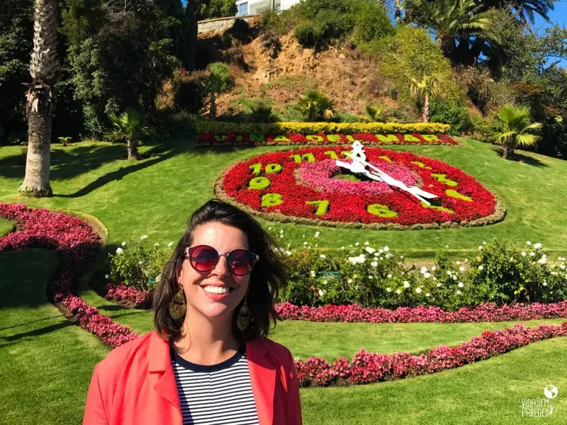 Melhores pontos turísticos em Viña del Mar, Chile: Relógio das Flores