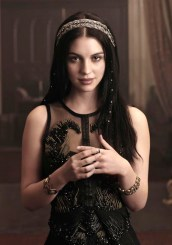 Reign -- Image Number: RE1_Gallery_Mary1_1518r.jpg -- Pictured: Adelaide Kane as Mary, Queen of Scots -- Photo: Mathieu Young/The CW -- © 2013 The CW Network, LLC. All rights reserved.