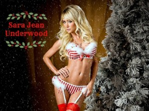 Sara Jean Underwood Christmas