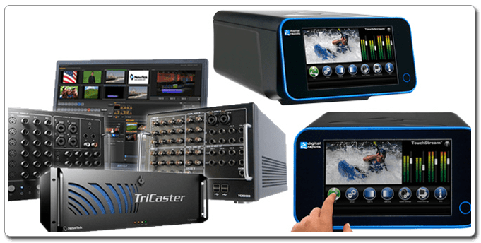 Encoding, Transcoding & Streaming - Newtek and Touchstream