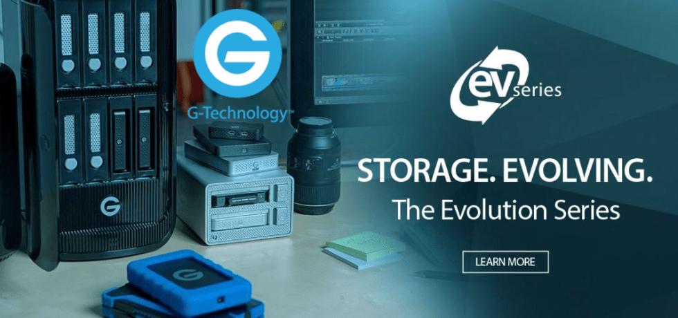 G-Technology ||  Storage.Evolving.