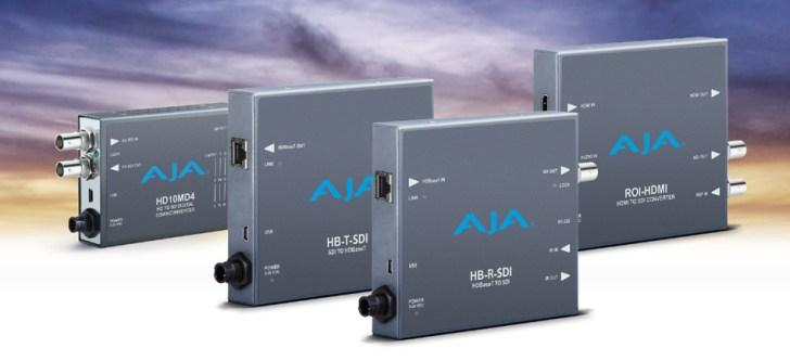 AJA Debuts New Mini-Converters