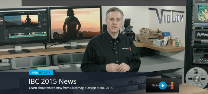 The Latest From Blackmagic Design