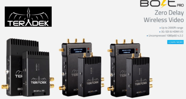 Teradek Wireless Video Devices