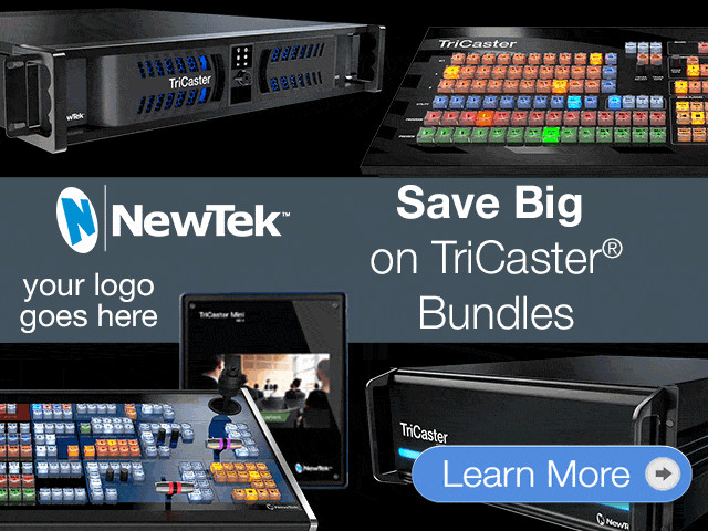NewTek Team Up & Save Promotion