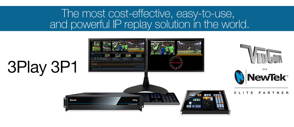 NewTek – 3Play Sports Replay Production Solutions