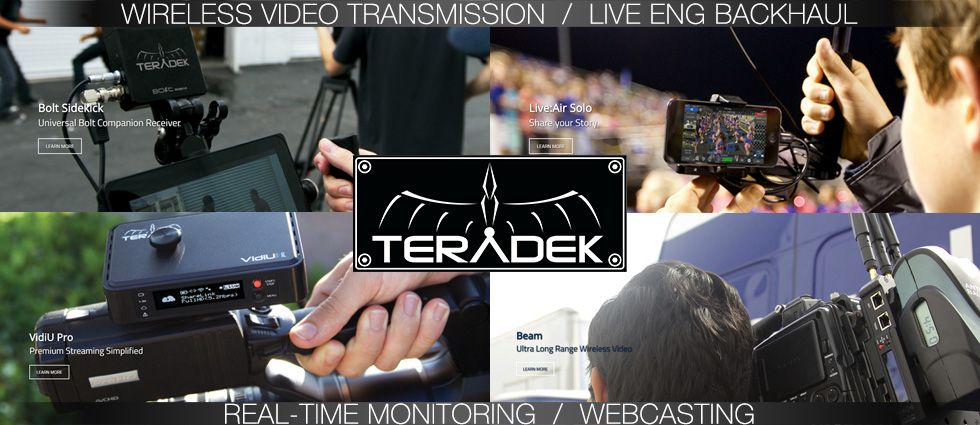 Teradek Wireless Video Systems