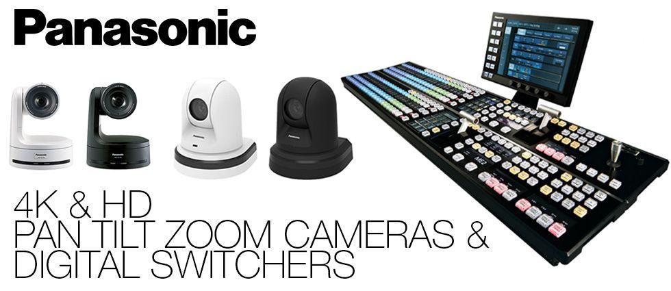 Panasonic Pan & Tilt Systems and Digital Switchers