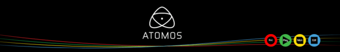 Atomos Touch Screen Monitor-Recorders