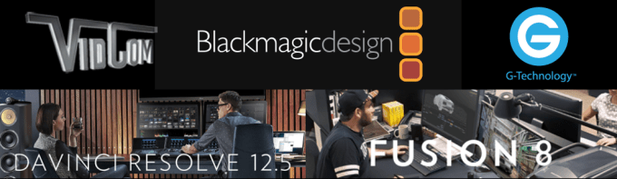 DaVinci Resolve 12.5 & Fusion 8 Presentation at VidCom