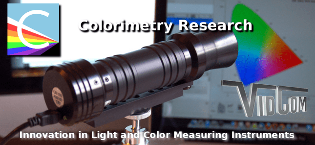 Colorimetry Research - Innovation in Light and Color Measuring