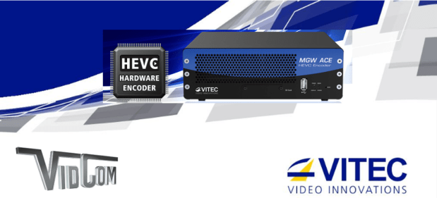 Vitec Video Innovations H.265 encoding
