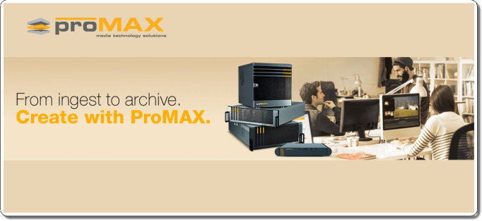 Data Archiving & Asset Management ProMAX